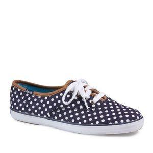 Keds Champion Dot Sneakers Navy/White Sz 6